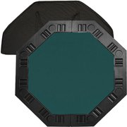 "Trademark Poker 48"" 8-Player Octagonal Table Top, Dark Green"