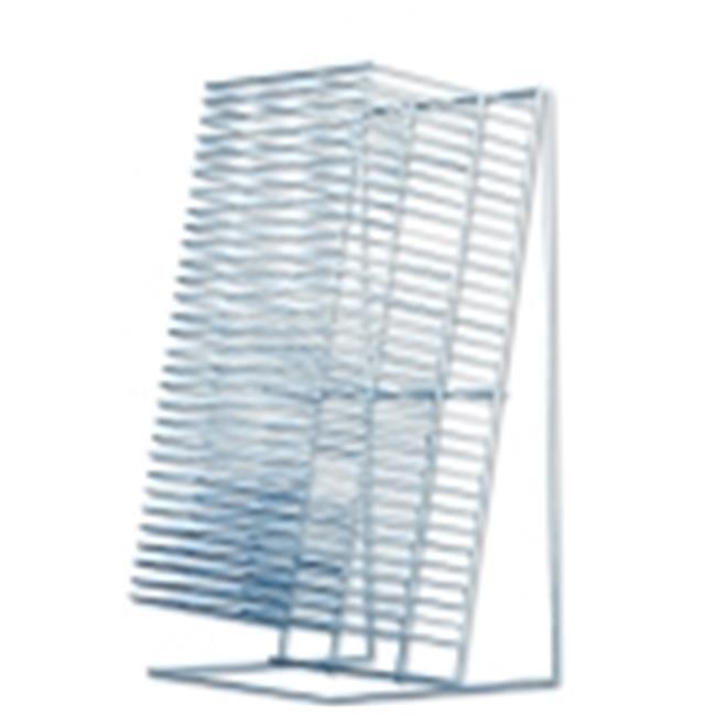 Sax Single-Slide Table Top Drying Rack - 12 H x 8 in. W, 30 Shelf