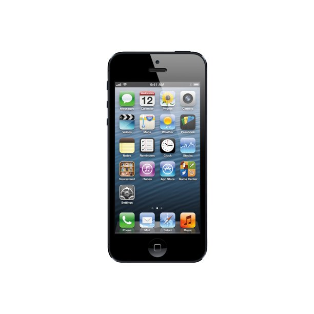 "Apple iPhone 5 - Smartphone - 4G LTE - 16 GB - GSM - 4"" - 1136 x 640 pixels - Retina - 8 MP - T-Mobile - black & slate"