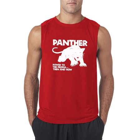 1bfc2eb19da6bd allwitty - Allwitty 1092 - Men s Sleeveless Black Panthers Power To ...