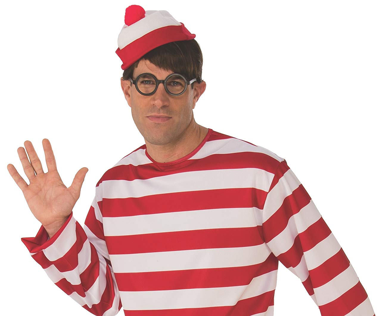 wheres waldo adult costume hat