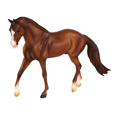 Breyer Classics Chestnut Quarter Horse Toy (1:12 Scale)
