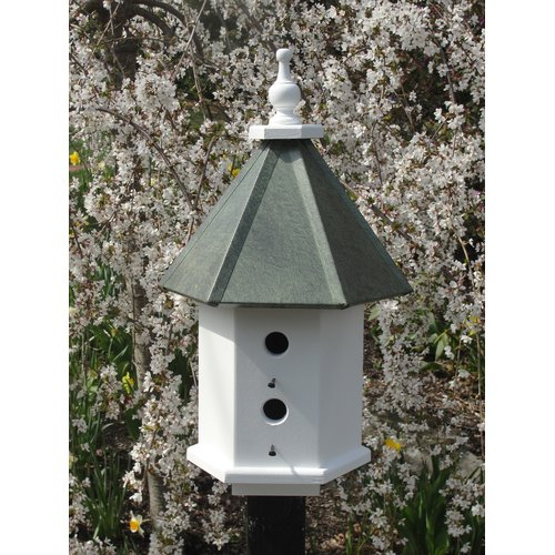 Wooden Expression Birdhouses Estate 24 in x 14 in x 14 in Birdhouse
