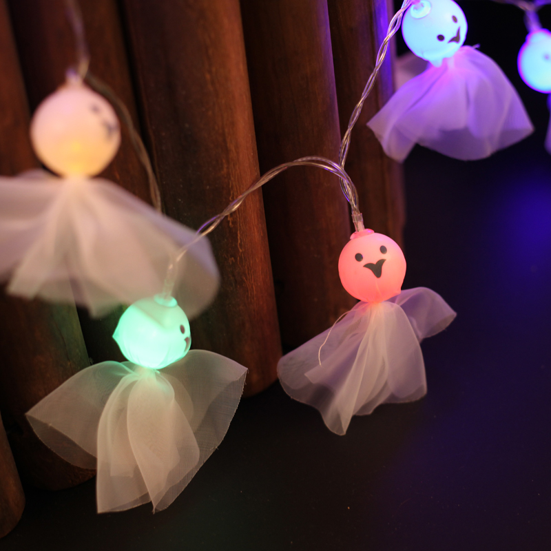 Clearance Halloween Decorations With G Host Doll String Lights