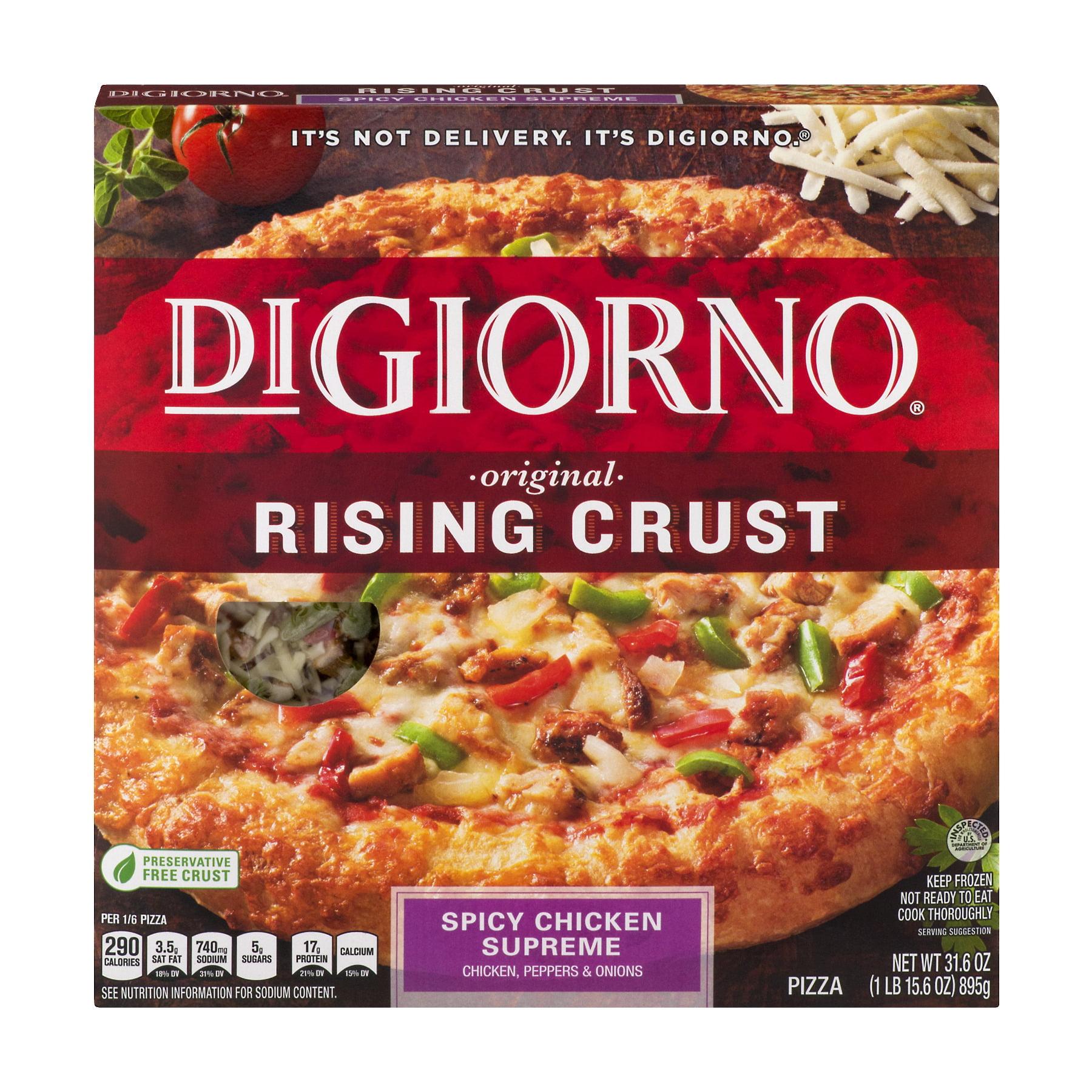 DiGiorno Original Rising Crust Pizza Spicy Chicken Supreme, 31.6 OZ