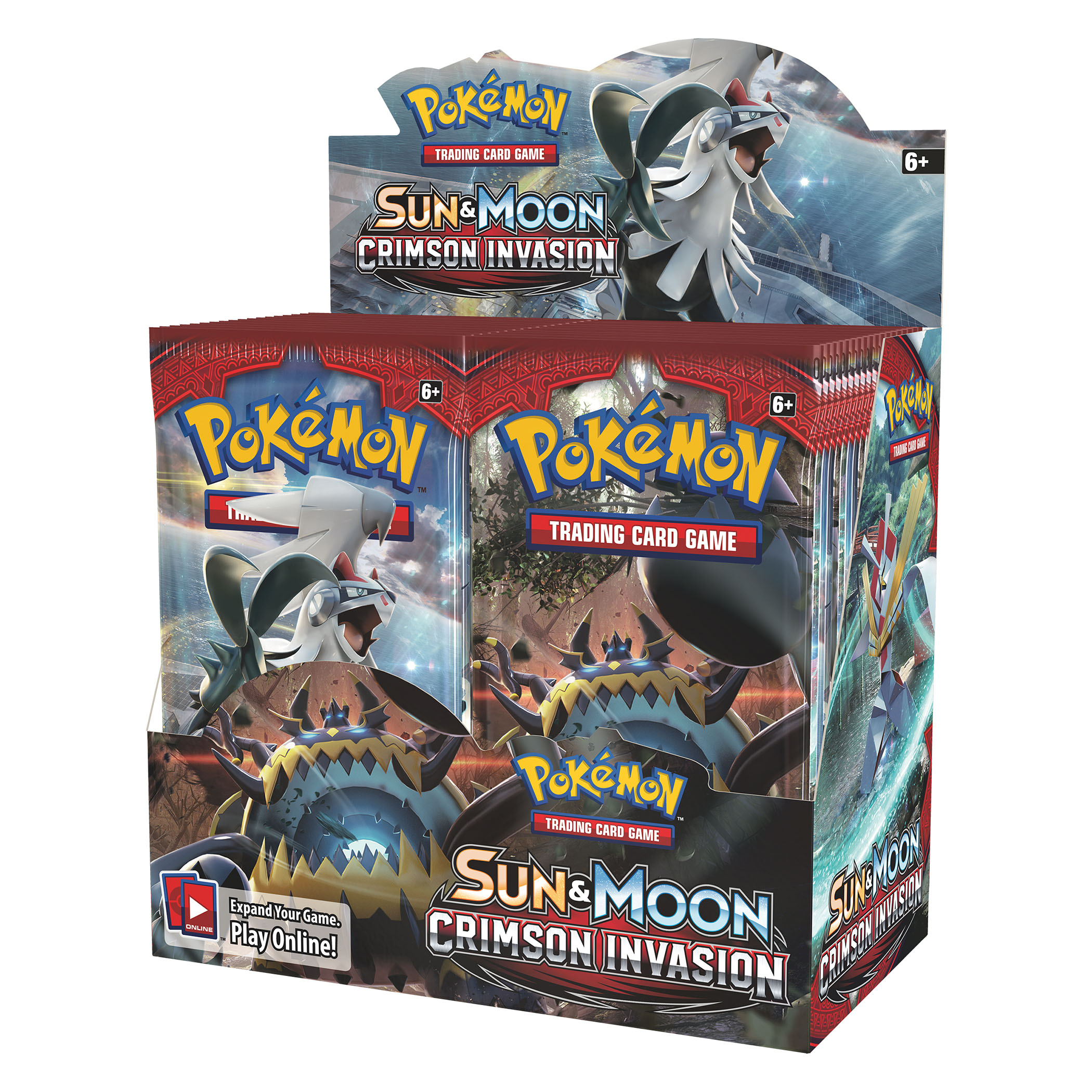 Pokemon Trading Card Game Sun and Moon Crimson Invasion Booster Box by Pokemon
