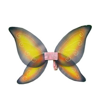 Wings Child Fairy Pink Yellow - Realistic Fairy Wings For Sale