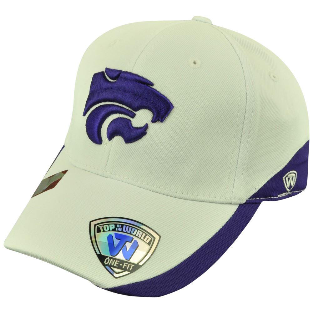 NCAA Top of the World Kansas State Wildcats Matchplay Stretch Flex Fit Hat Cap