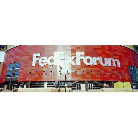 Basketball stadium in the city FedEx Forum Memphis Tennessee USA Canvas Art - Panoramic Images (36 x 12)