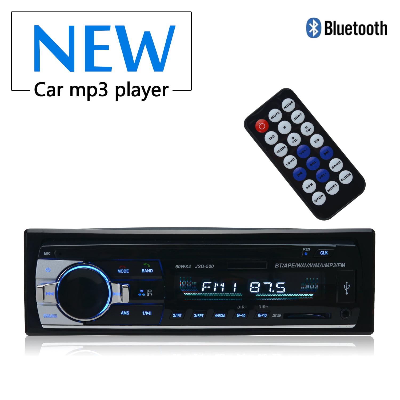 Car Radio Retro Radio in Car Radios Auto Radio Retro Car Radio Classic FM Bluetooth Receiver Audio Stereo MP3 Player Speaker Card Reader USB Flash Drive 1 Din Radio Tune 178 mm* 50mm*68mm