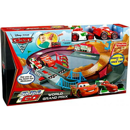 Disney Cars Shake 'N Go World Grand Prix Playset
