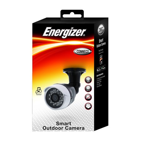 Energizer Connect Smart Outdoor WIFI Camera IOS & Android App Included ()