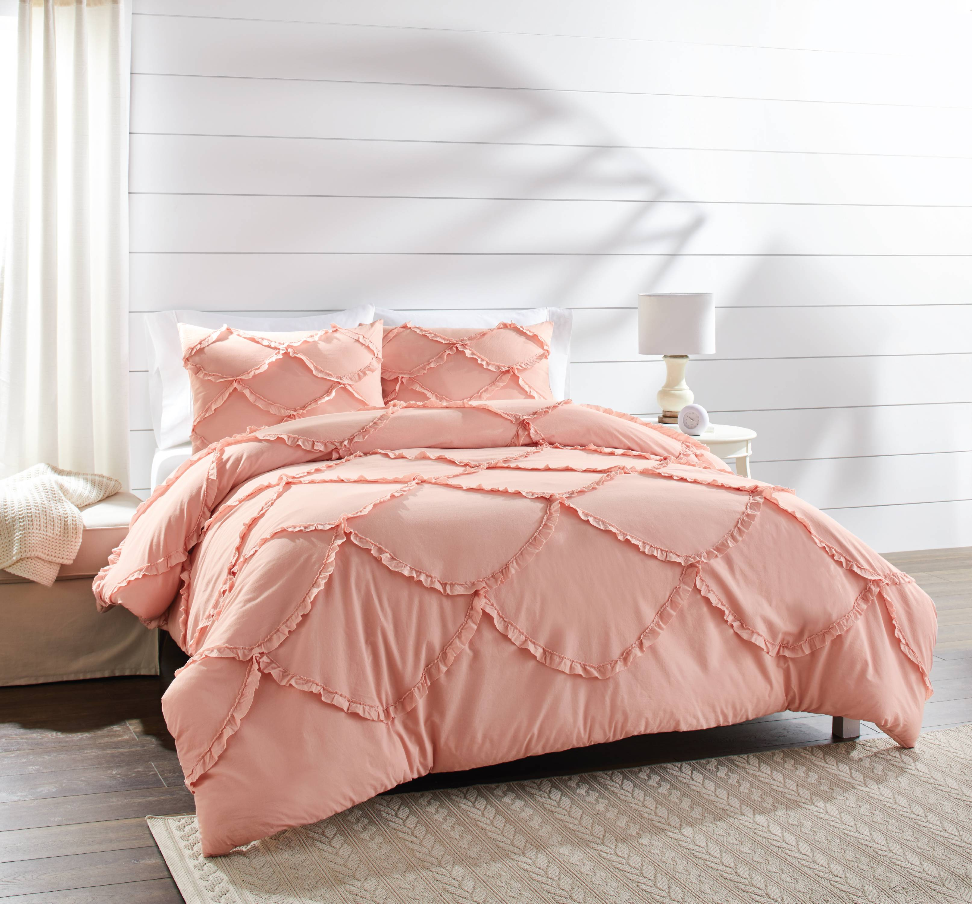 Better Homes And Gardens 3 Piece Blush Comforter Set by Better Homes & Gardens