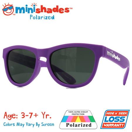e874de20cbf Minishades Polarized - Minishades Polarized  Flexible Kids Sunglasses -  Grape Jelly