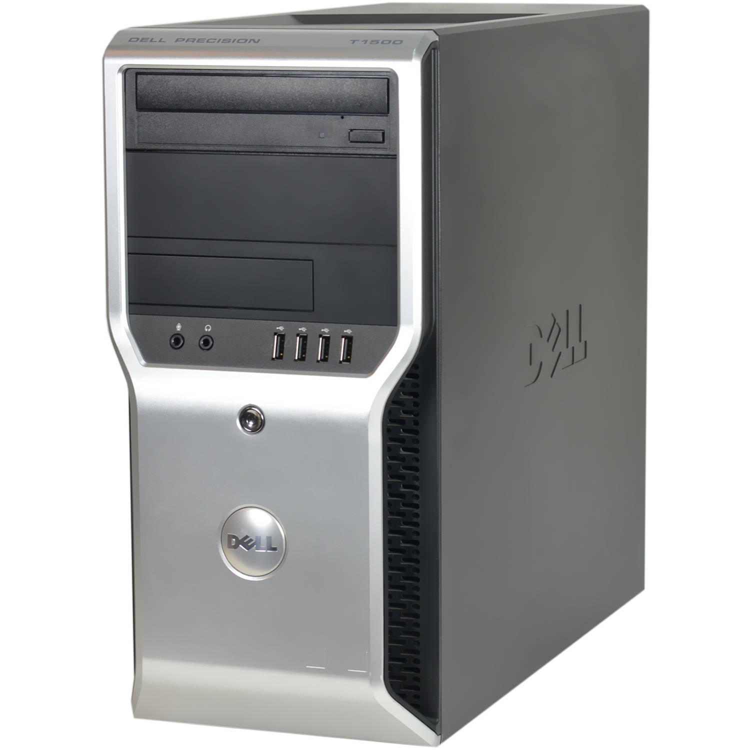 Refurbished Dell Precision T1500-T WA1-0398 Desktop PC with Intel Core i7-860 Processor, 4GB Memory, 1TB Hard Drive and Windows 10 Pro (Monitor Not Included)