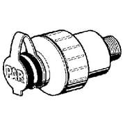 Jabsco 44410-1010 White Straight Port In-Line 35 PSI Water Pressure Regulator
