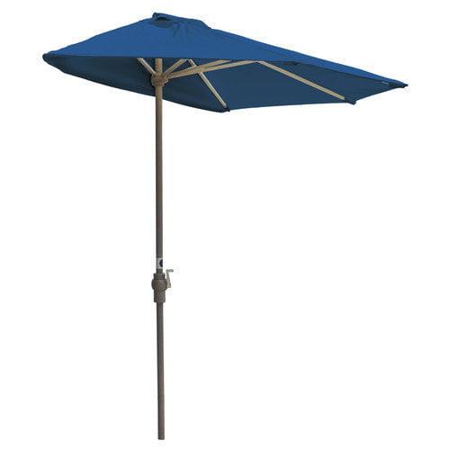 Blue Star Group 7.5' Off-The-Wall Brella Half Umbrella