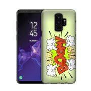 Samsung Galaxy S9 BOOM Comic Book on Green Case