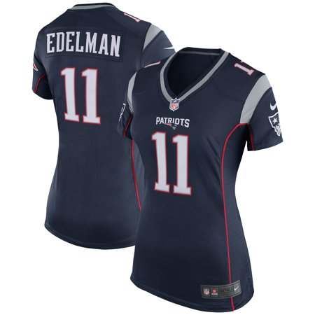 Nice Girl - Julian Edelman New England Patriots Nike Girls Youth Game Jersey - Navy