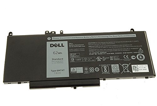 Genuine Dell 6MT4T Laptop Battery For Dell Latitude E5450
