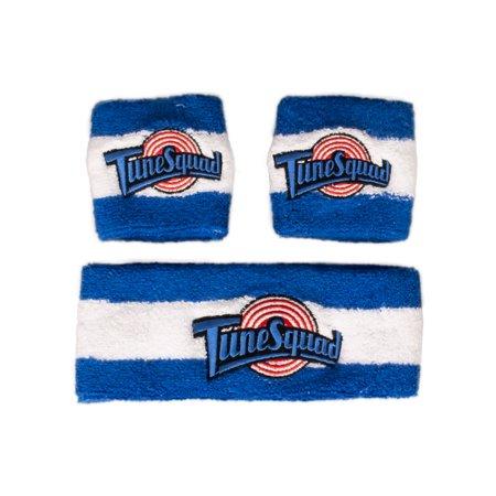 Acrylic Knit Headband (Space Jam Headband & Wristband Terry Knit)