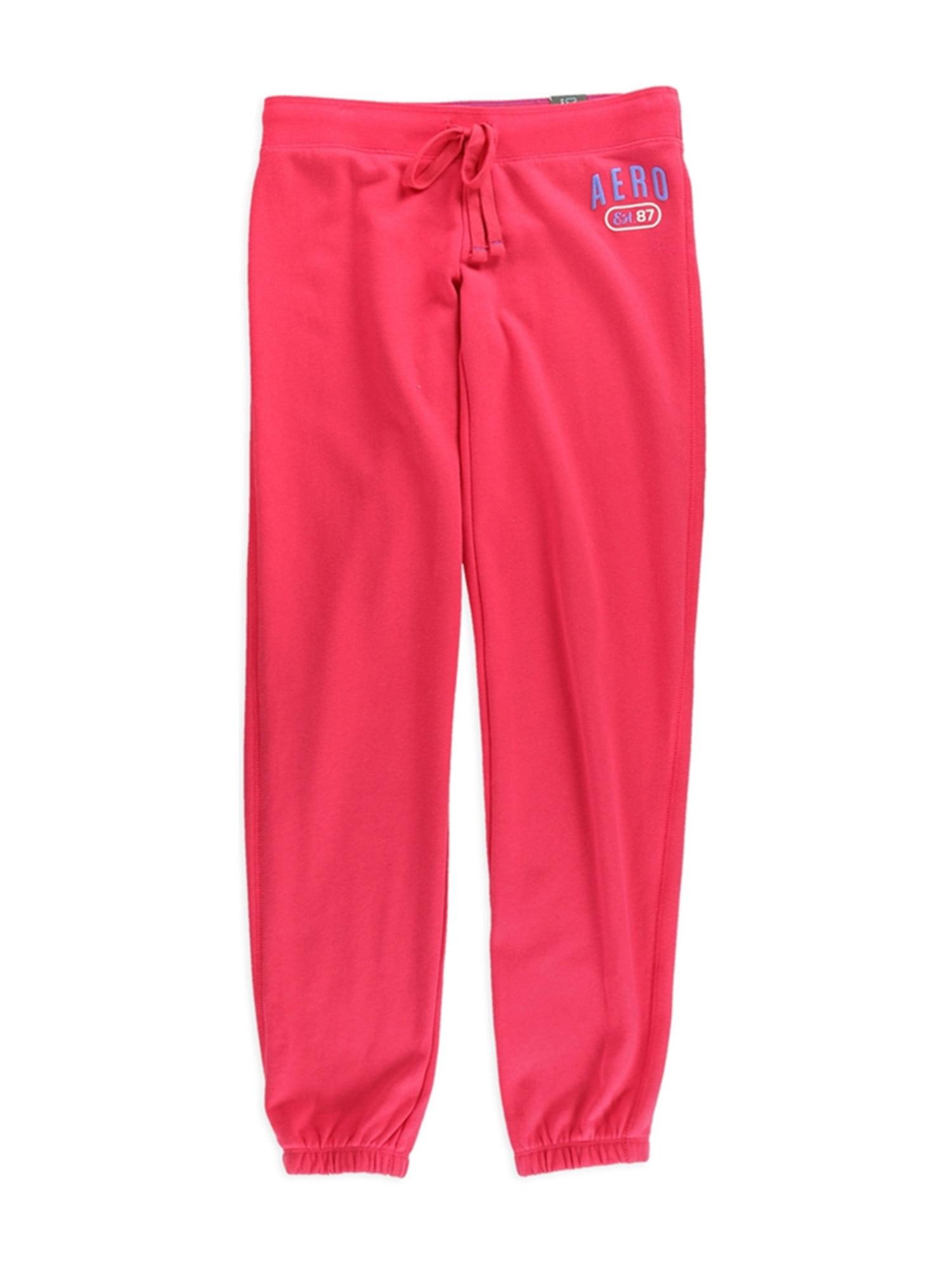 Aeropostale Womens Classic Cinch Slim Casual Sweatpants