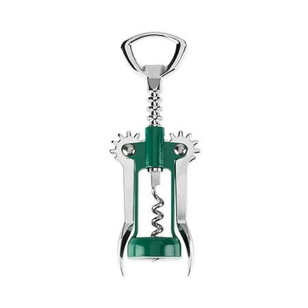 Wing Tip Wine (Soar™: Winged Corkscrew in Green by True )