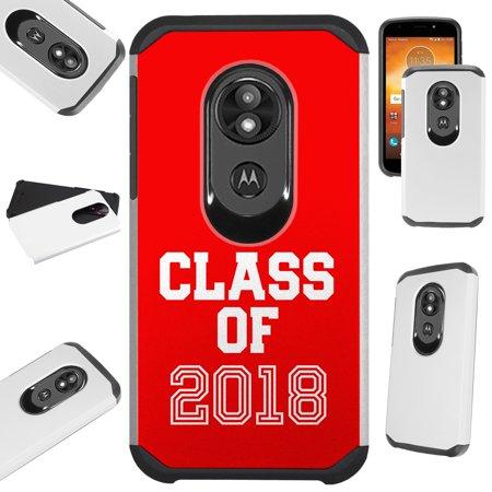 Compatible Motorola Moto G7 Play (2019) | Moto G7 Optimo Case | T-Mobile REVVLRY Hybrid TPU Fusion Phone Cover (Class