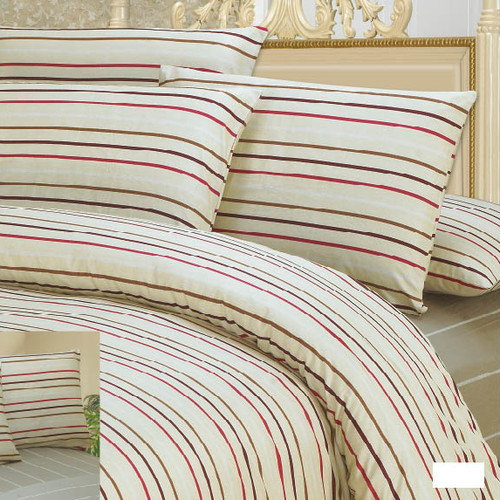 DaDa Bedding Striped Duvet Cover Set