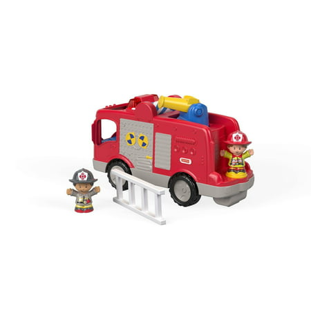 Little People Helping Others Fire Truck with Sounds, Songs & - Little Farmhouse Toy
