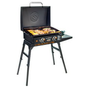 """Blackstone Adventure Ready 22"""" Griddle with Hood, Legs, Adapter Hose"""