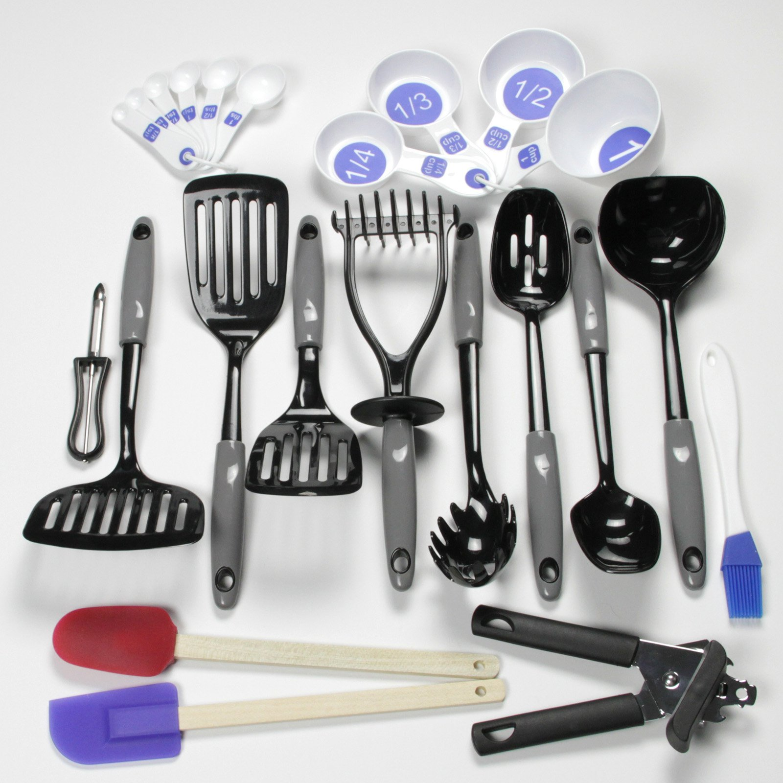 Chef Craft Select Nylon Kitchen Tool and Gadget 23 Piece Set