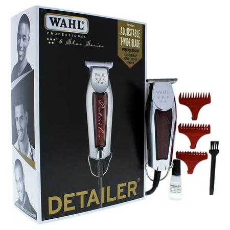 WAHL Professional 5 Star Detailer - Model # 8081 - Silver/Red for Unisex - 1 Pc Kit Trimmer - Walmart.com
