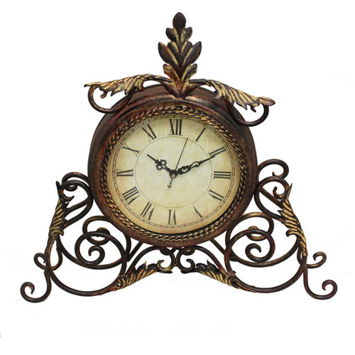 EC World Imports Desk Clock