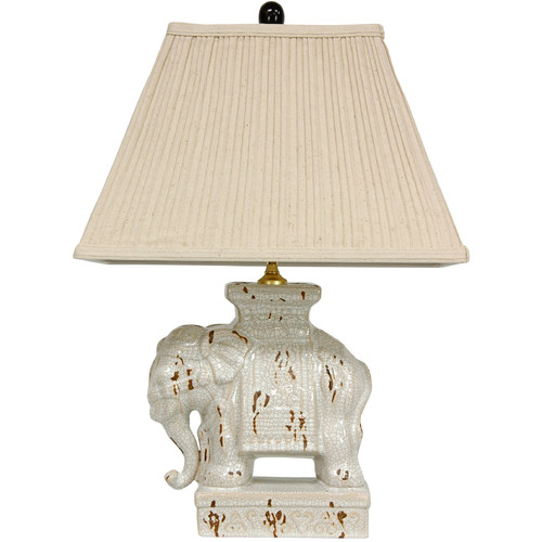 Oriental Furniture Elephant 22'' Table Lamp