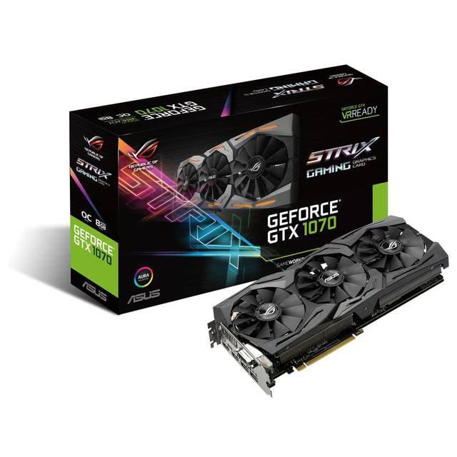 Asus NVIDIA ROG Strix GeForce GTX 1070 8GB GDDR5 DVI/2HDM...