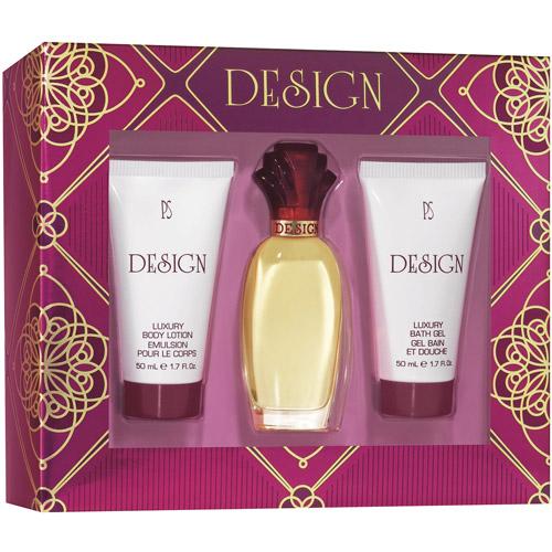 Design By Paul Sebastian For Women 3 Pc Gift Set 1oz Fine Parfum