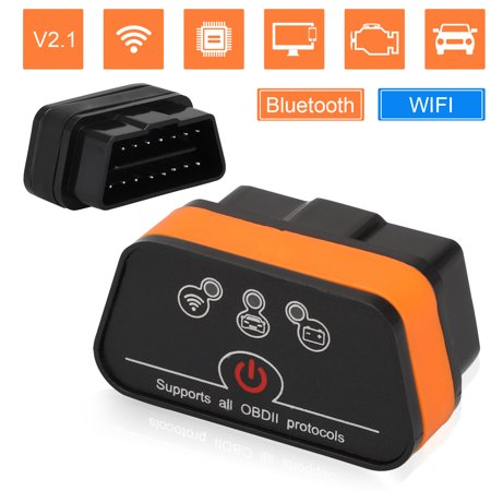 EEEkit OBD2 Scanner Bluetooth Professional Car Code Reader Compatible with Android and Ios PC with System Diagnoses OBD2 Scan Tool Since Year 2001 Vehicles