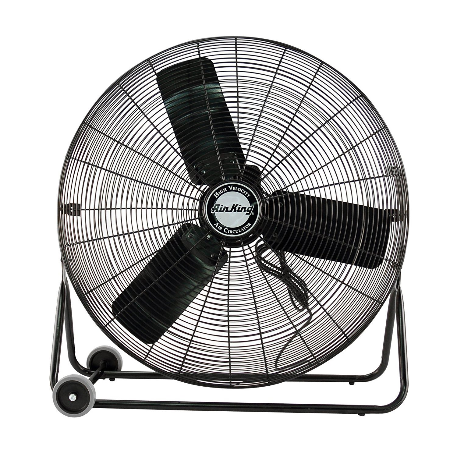 Air King 3 Speed 1/4 HP 120 Volt 30 Inch Enclosed Pivoting Floor Fan | 9230