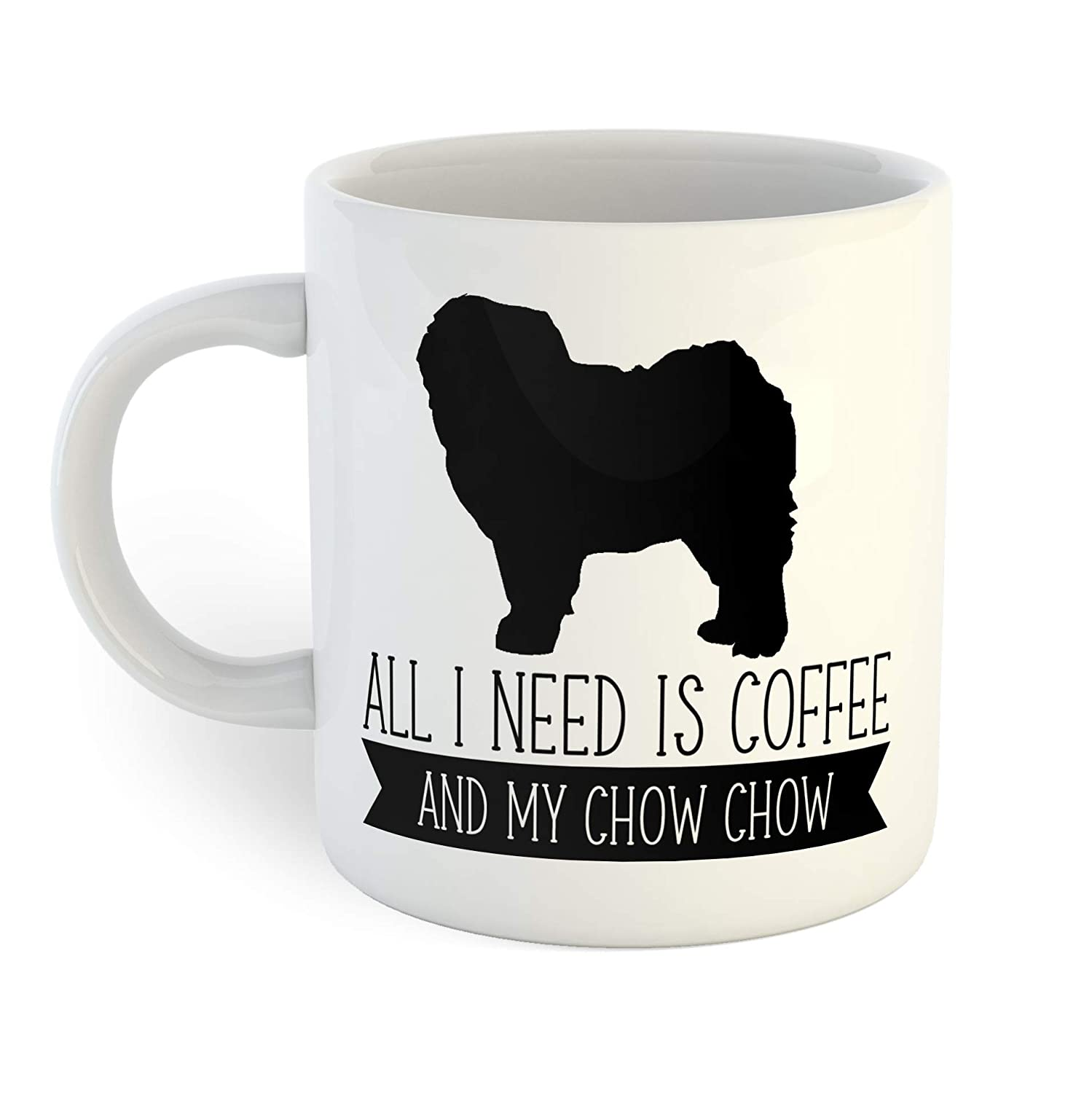 All I Need Is Coffee And My Chow Chow Coffee Mug Walmart Com Walmart Com