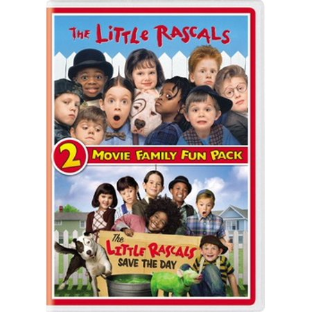 Little Rascals 2-Movie Family Fun Pack (DVD) - Best Fun Halloween Movies