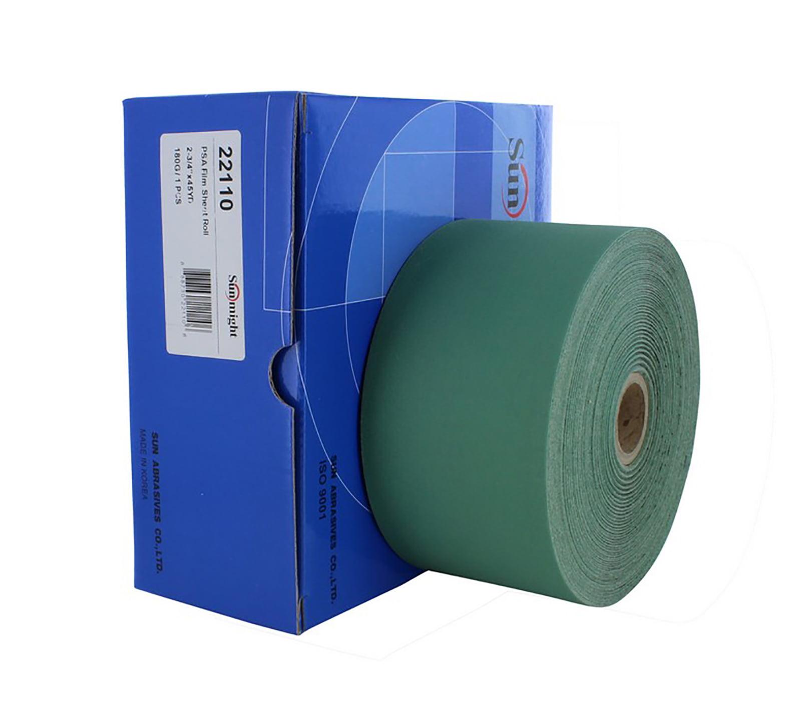 3M 30708 Hookit 334U Purple 70 mm x 12 m P220 Grit Clean Sanding Sheet Roll