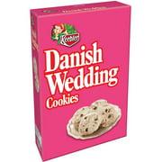 Keebler Danish Wedding Baked Cookies 12 oz tray