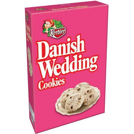 Monogrammed Wedding Cookie ((2 Pack) Keebler Danish Wedding Cookies, 12 oz)