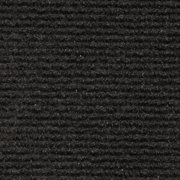 Indoor/Outdoor Carpet with Rubber Marine Backing - Black 6' x 10' - Several Sizes Available - Carpet Flooring for Patio, Porch, Deck, Boat, Basement or Garage