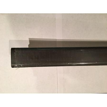"Dekorman Laminate T-Molding – Dark Oak, 7.875ft(L) x 1.75""(W)"
