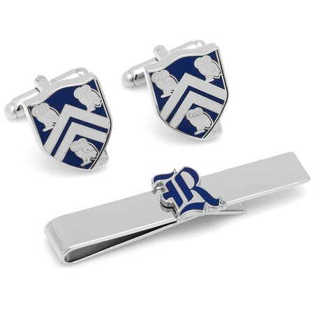 Rice University Owls Cufflinks and Tie Bar Gift Set