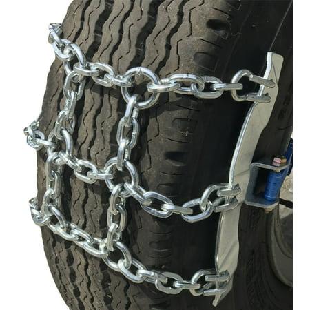 TireChain com 275/80-22 5, 275/80 22 5 Ratchet Strap Emergency Tire Chains  - Walmart com