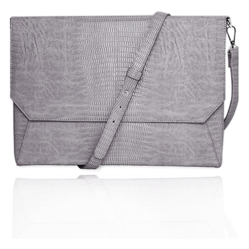"Fabrique Francine Collection Lenox Sleeve for 13"" - Grey"