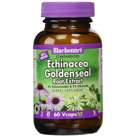 Bluebonnet Standardized Echinacea & Goldenseal Root Extract, 60 Ct